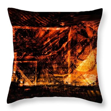 At The Theater Throw Pillow