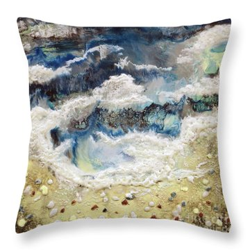 At Water's Edge II Throw Pillow