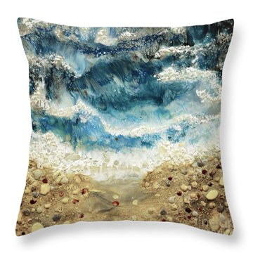 At Water's Edge V Throw Pillow