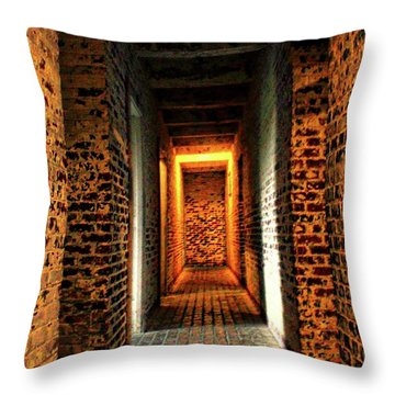 Throw Pillow featuring the photograph Atalaya by Jessica Brawley