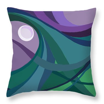 aTARDEcer malva I Throw Pillow