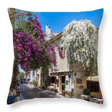 Athens / Greece Throw Pillow