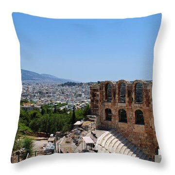 Athens Throw Pillow