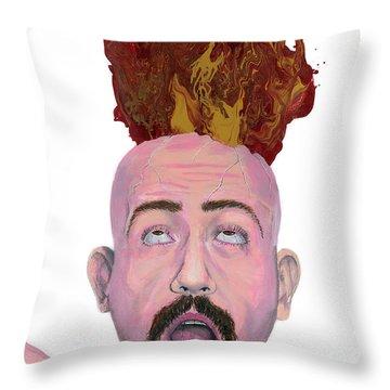 Atheonix Throw Pillow