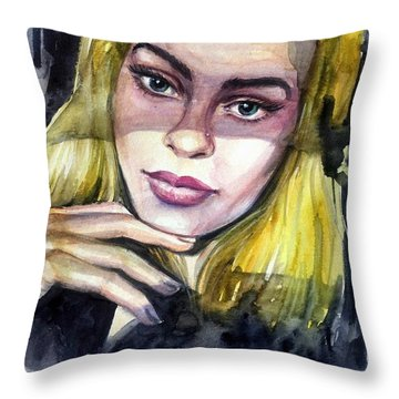 Athina Throw Pillow
