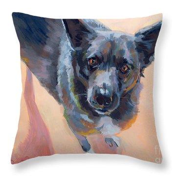 Atira Throw Pillow by Kimberly Santini