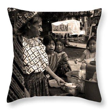 Atitlan Throw Pillow