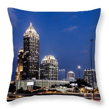 Atlanta Midtown Throw Pillow