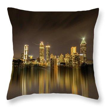 Atlanta Reflection Throw Pillow