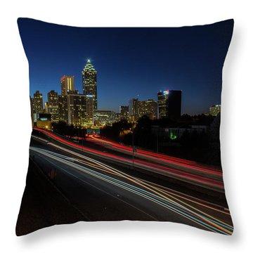 Atlanta Skyline 2 Throw Pillow