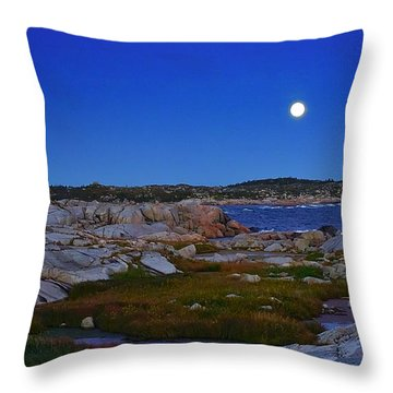 Atlantic Moon  Throw Pillow
