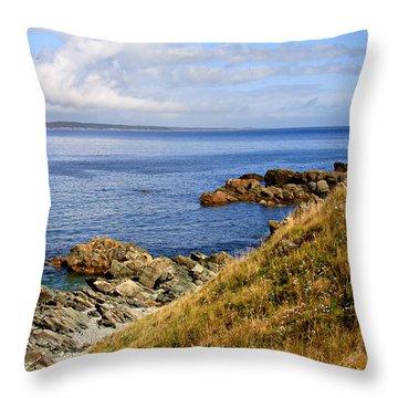 Cape Breton, Nova Scotia Throw Pillow