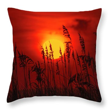Atlantic Sunrise #2 Throw Pillow