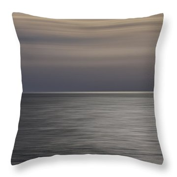 Throw Pillow featuring the photograph Atlantic Sunrise  by Kevin Blackburn