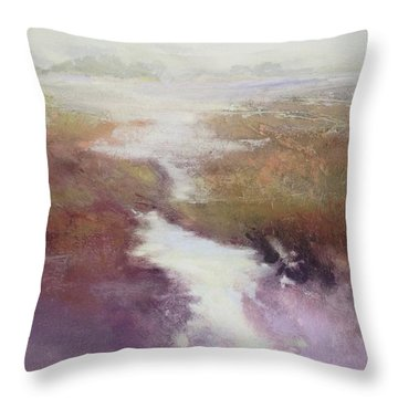 Atlanticsaltmarsh Throw Pillow