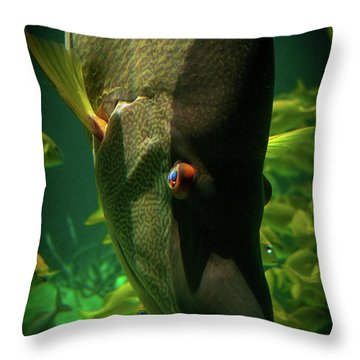 Atlantis Friends Throw Pillow