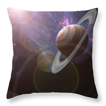 Atlas Throw Pillow by Mark Allen