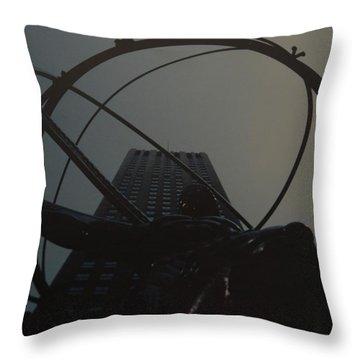 Atlas Throw Pillow by Rob Hans