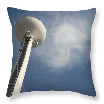 Atlas Throw Pillow by Robert Geary