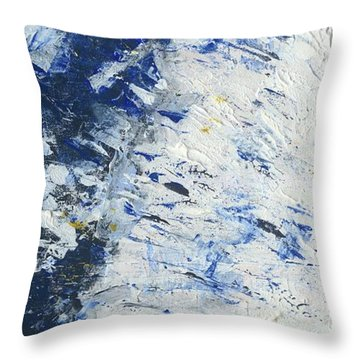 Atmospheric Conditions, Panel 1 Of 3 Throw Pillow