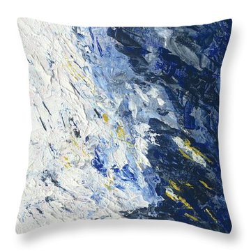 Atmospheric Conditions, Panel 2 Of 3 Throw Pillow