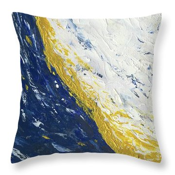 Atmospheric Conditions, Panel 3 Of 3 Throw Pillow