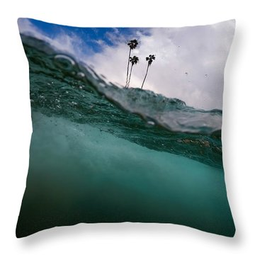 Throw Pillow featuring the photograph Atmospheric Pressure by Sean Foster