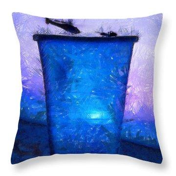 Atomic Ant - Pa Throw Pillow