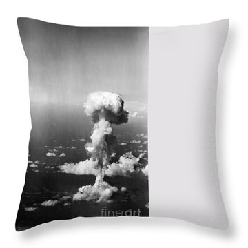 Atomic Bomb Test, 1946 - To License For Professional Use Visit Granger.com Throw Pillow