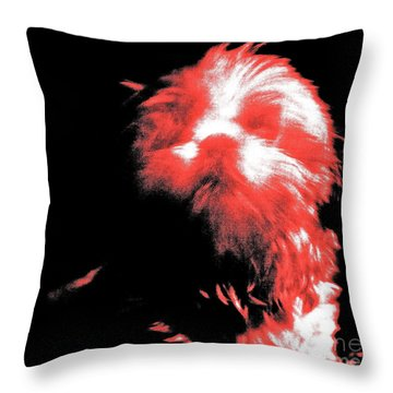 Atsuko Throw Pillow by Xn Tyler