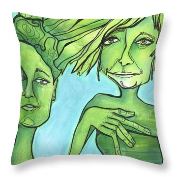 Attachment Theory Throw Pillow