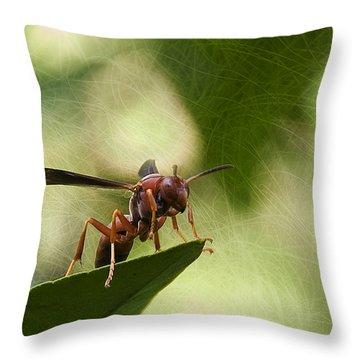 Attack Mode Throw Pillow