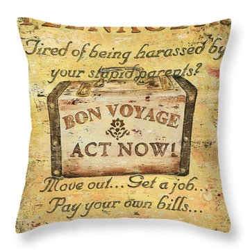 Distressed Throw Pillows