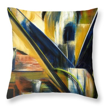 Attic Finds Throw Pillow