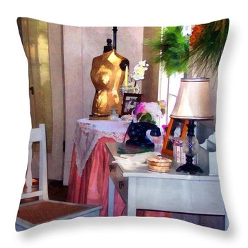 Attic Treasures Throw Pillow