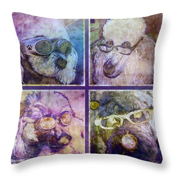 Attitoodles Throw Pillow