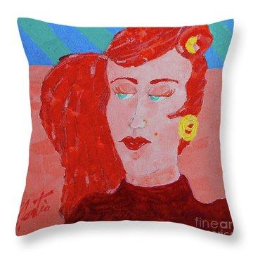 Attitudes  Throw Pillow