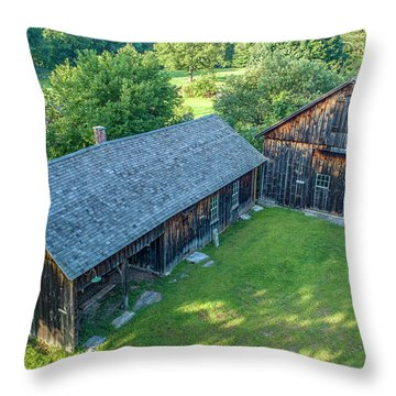 Atwood Farm Throw Pillow