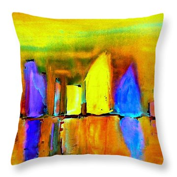 Aubade - To Love-dedicated Throw Pillow