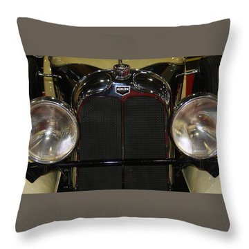 Throw Pillow featuring the photograph Auburn 8-88 Boat Tail Speedster by Vadim Levin