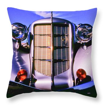 Auburn 852 Boattail Speedster Throw Pillow