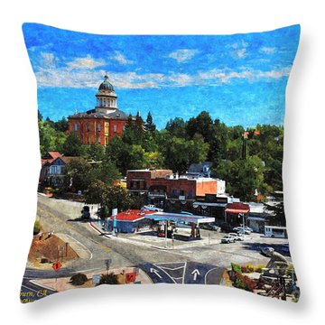 Auburn Ca Throw Pillow