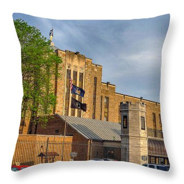 Auburn Correctional Facility Throw Pillow