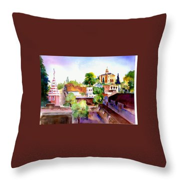 Auburn Old Town Throw Pillow
