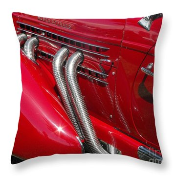 Auburn Speedster Throw Pillow