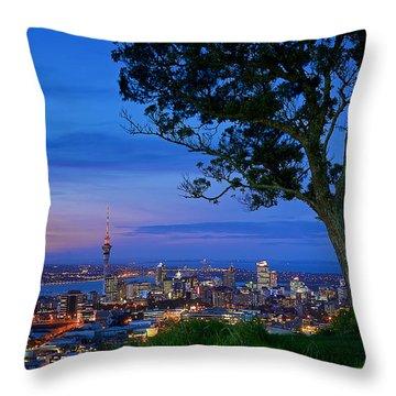Auckland Throw Pillow