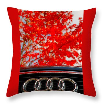 Audi Throw Pillow