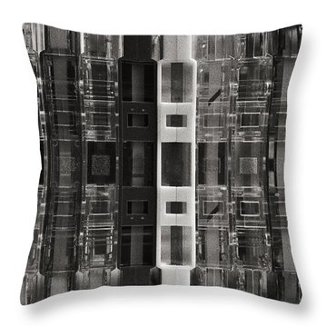 Audio Cassettes Collection Throw Pillow