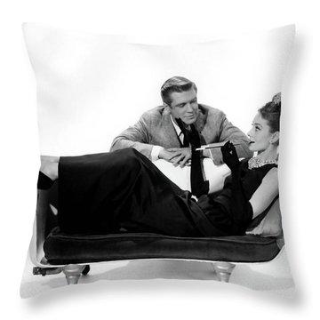 Audrey Hepburn Holly Golightly Breakfast At Tiffanys  Throw Pillow