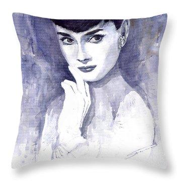 Audrey Hepburn Throw Pillows
